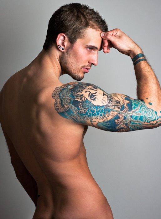 Интересное тату для мужчин фото