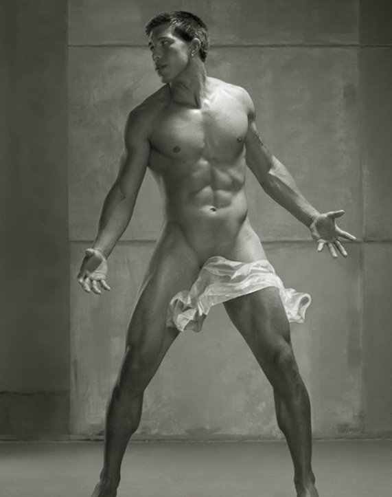 Male Perfection by Photographer David Vance