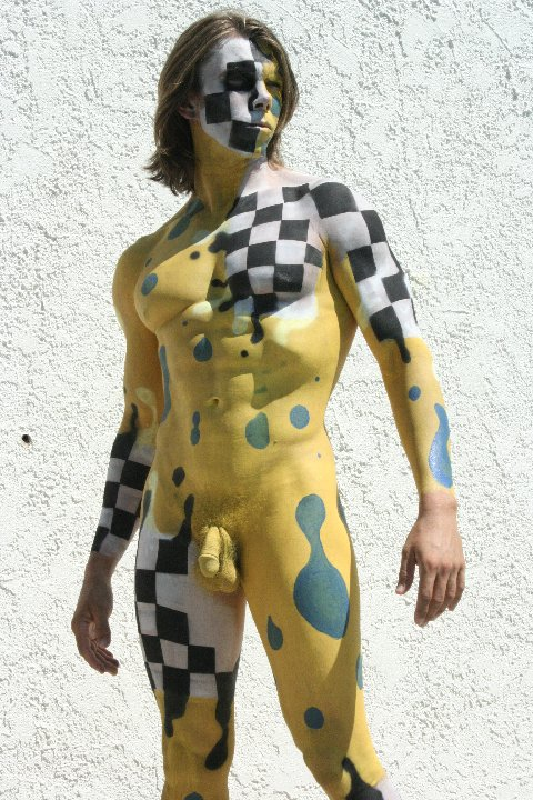 Male Nude Body Painting Milfy Monday!!!!! Posted by wirecutter 5 comments