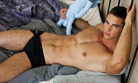 Vanguardist - Hot underwear boy