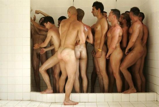Men in the shower 1 Men In The Shower...