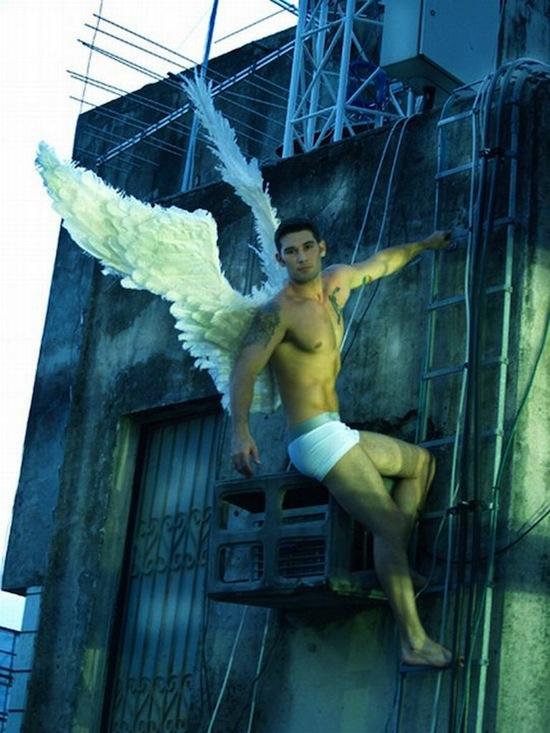Angelic Hunks By Célio Said (3)