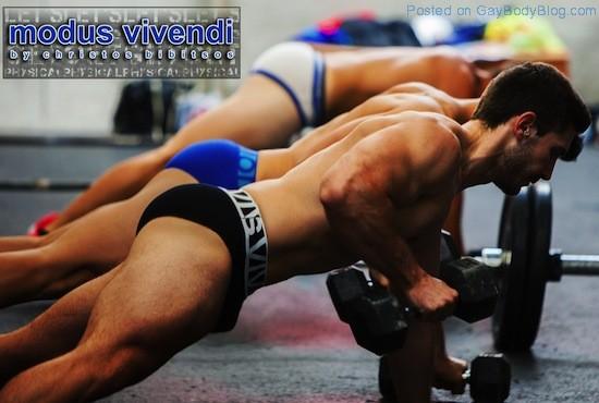 Gym Buff Hunks From Modus Vivendi (3)