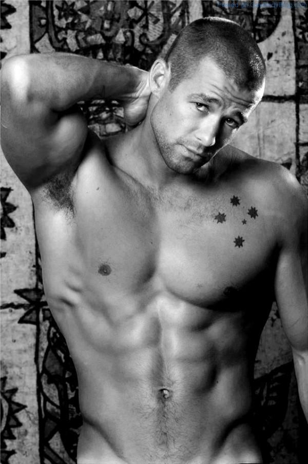 Buff Australian Big Brother Hunk Matthew Filippi - Gay