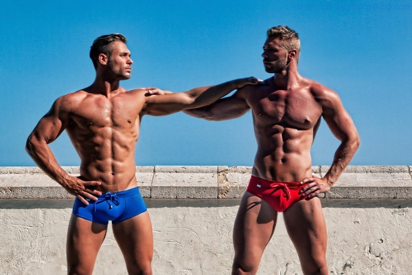 In Spain With Stunning Hunks 3
