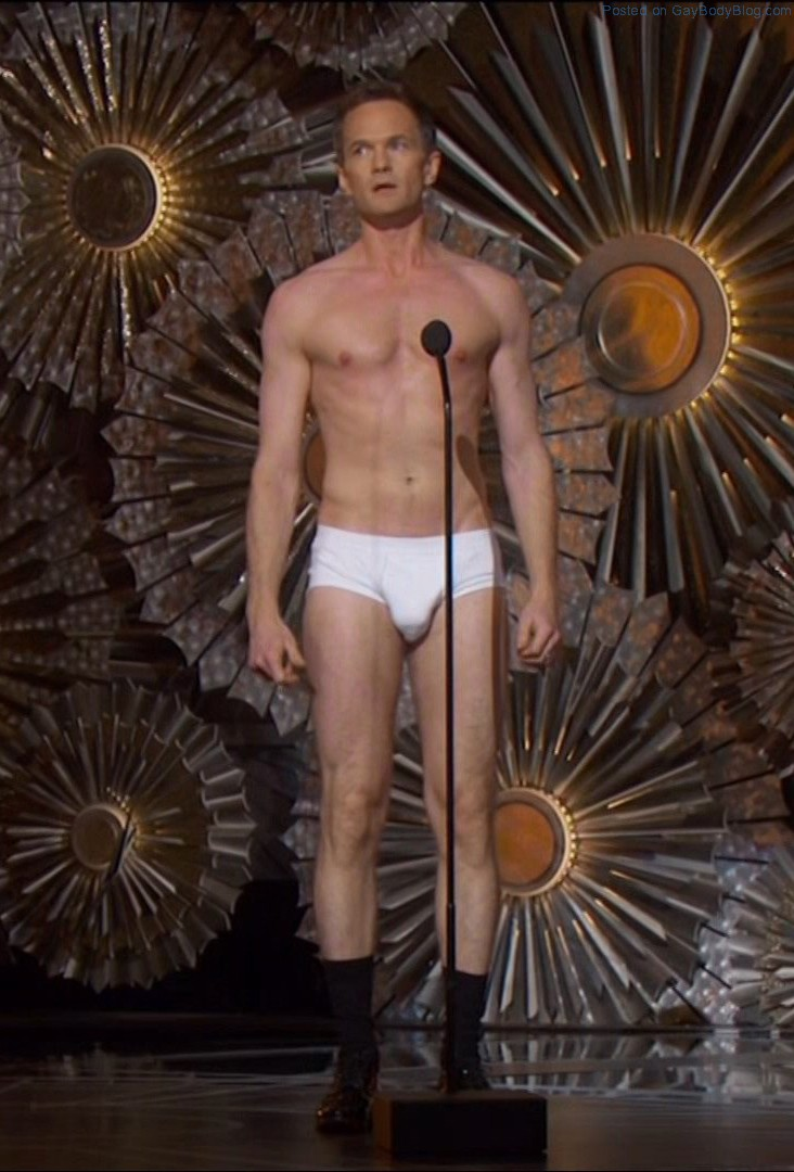 Neil patrick harris sexy, shirtless scene in the man in the