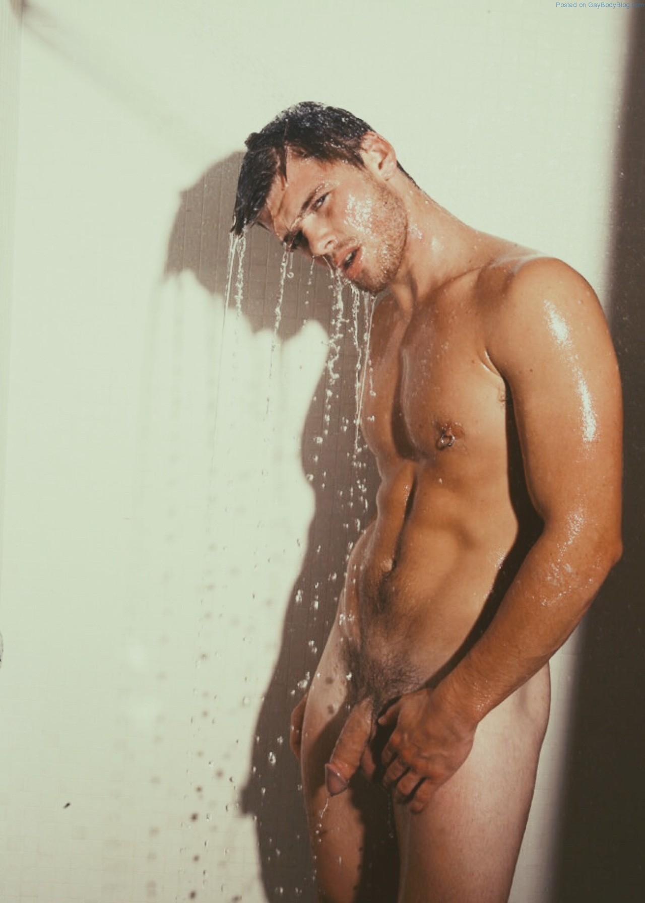 Nude Teen Boy Taking A Shower