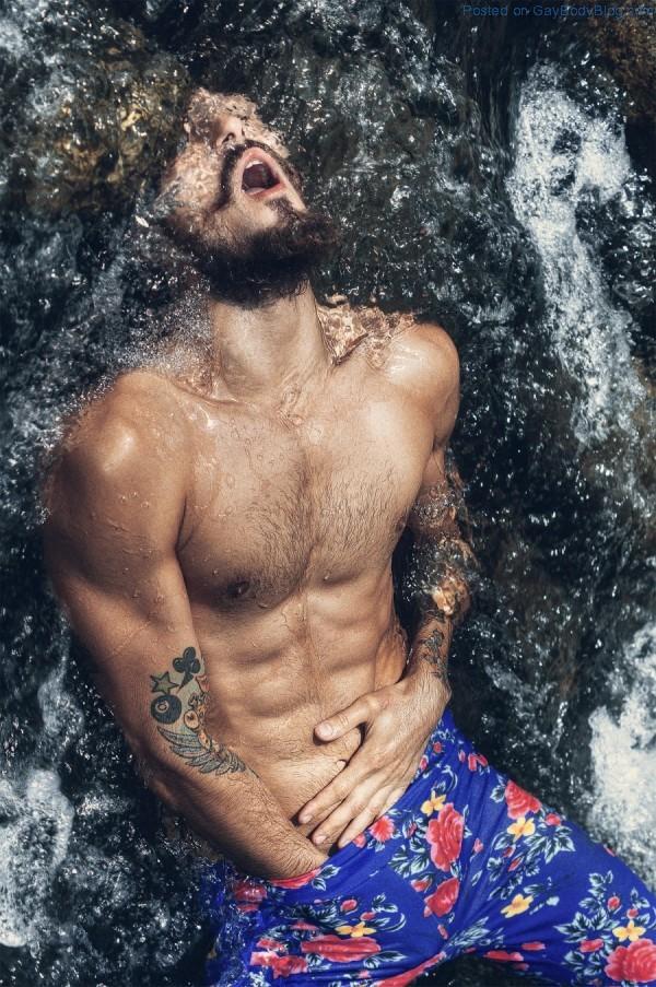Rafa Rech In Sexy Hipster Style By Jvdas Berra - Gay Body