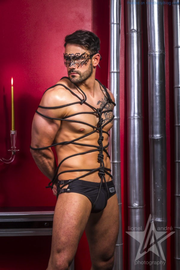 Jess Vill And Sebastien Look Hot In Some Kinky Gear 1