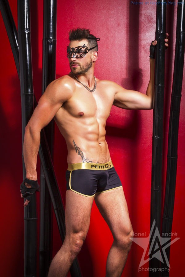 Jess Vill And Sebastien Look Hot In Some Kinky Gear 4