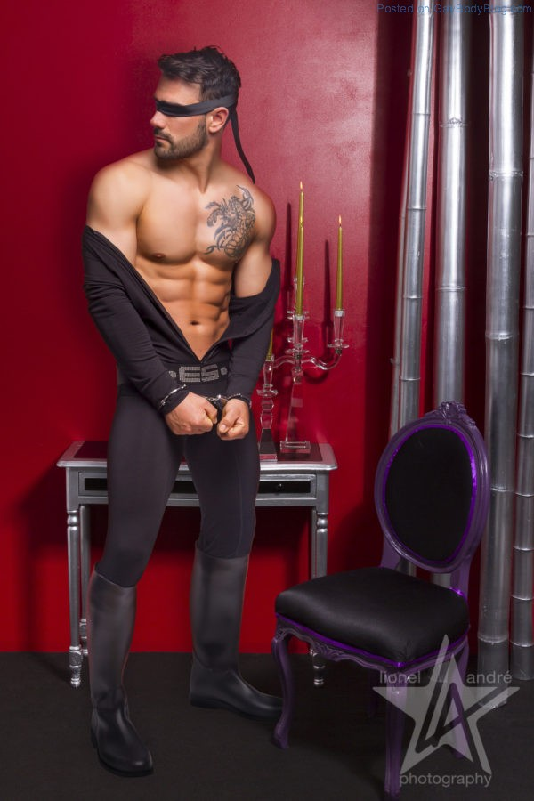 Jess Vill And Sebastien Look Hot In Some Kinky Gear 5