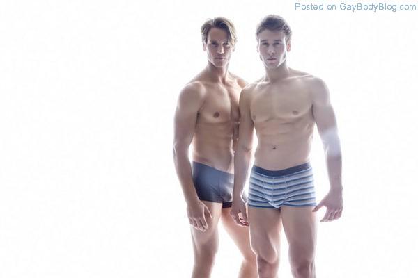 Just Two Stunning Muscle Jocks 1