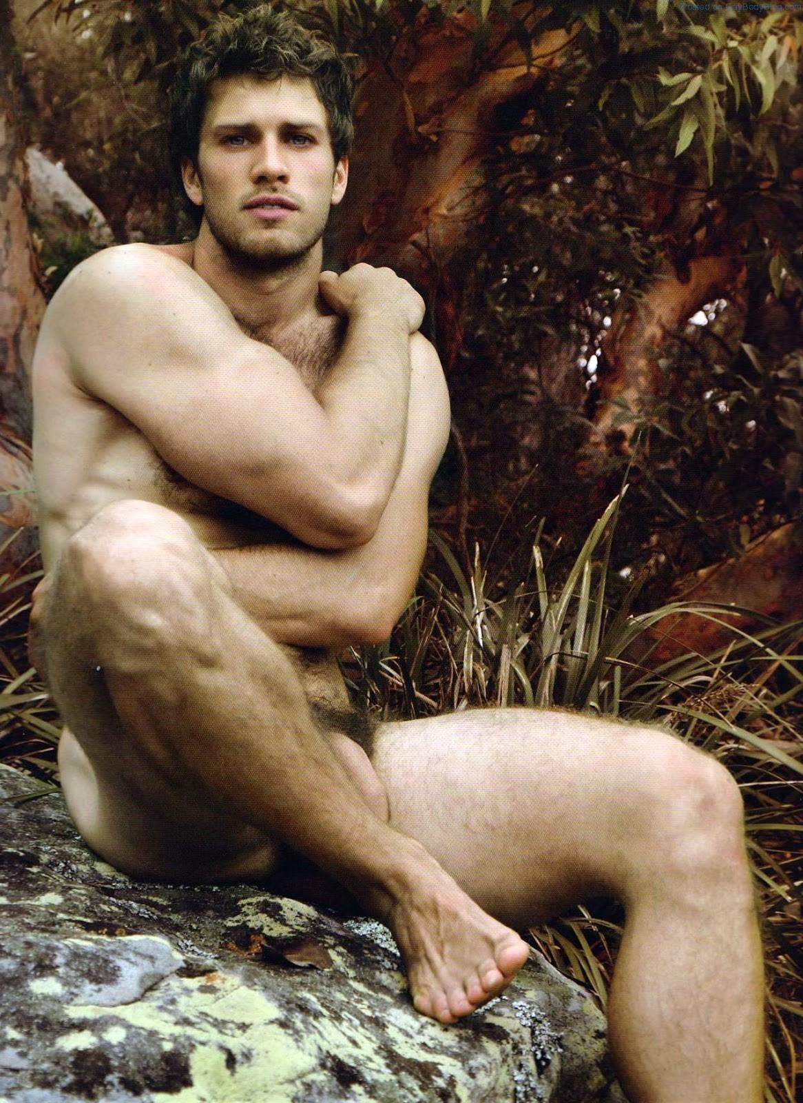 Australian naked man
