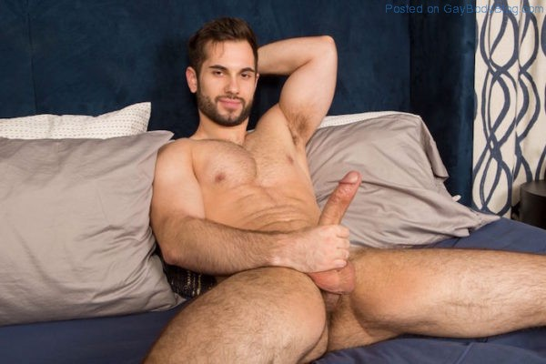 Hung Jock Vincent Enjoys Some Toy Play 4