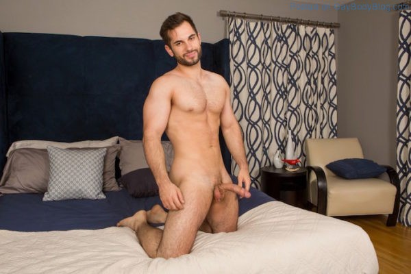Hung Jock Vincent Enjoys Some Toy Play 6
