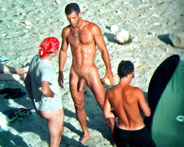 Naked Guys Outside