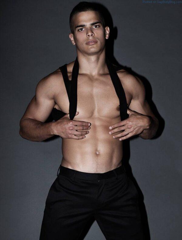 Male model Aggelos Konstantilieris