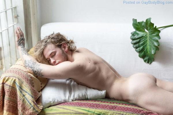 Male model Martin Sosa