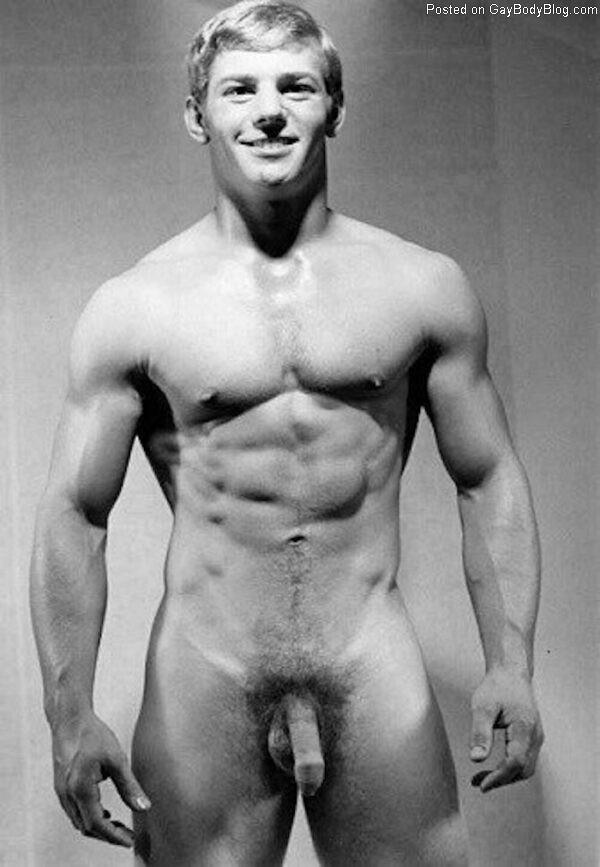 Vintage Nude Male Models Flaccid