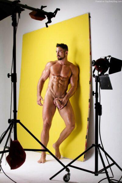Model boy nude Male student