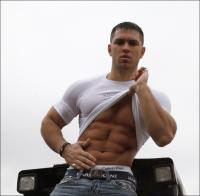 Ripped Fitness Model - Alon Gabbay