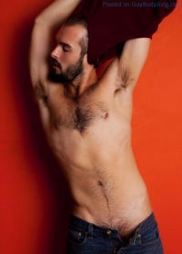 Hairy Handsome Hottie Dusty st. Amand