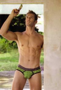 Levi Poulter Shows His Perfect Package