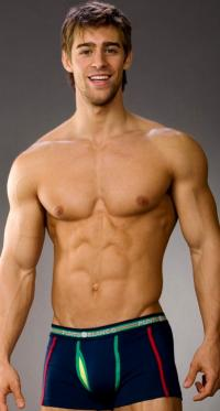 Luke Guldan is another male model we've had some pics of on the blog a ...