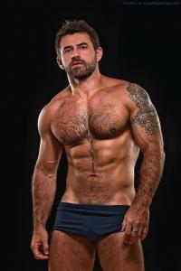 Masculine And Hairy Hunk Fabricio Ternes