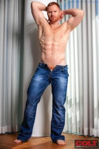 New Hunky Red Headed Muscle Man Seth Fornea