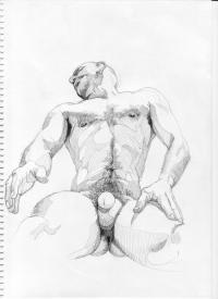 ... since we had some really impressive nude male art on the Gay Body Blog, ...