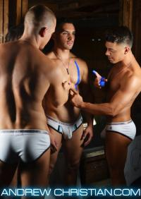 Quinn Jaxon And Others For Andrew Christian