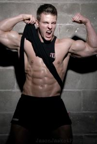 Shameless Jock Muscle - Stefan Gatt